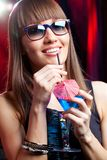 Glamor girl Stock Photos