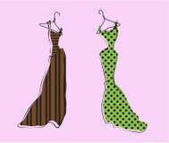 Glamor Girl's Wardrobe Stock Photo