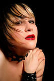 Glamor gotico fotografia stock libera da diritti