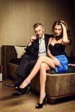 Glamor love Stock Image