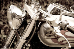 Glamor motorcycle. Beaty technic and colors Stock Photography