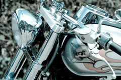 Glamor motorcycle Stock Photography