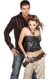 Glamor Paare lizenzfreie stockfotografie