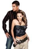 Glamor Paare stockbild