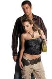 Glamor Paare stockbilder