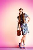 Glamor pink royalty free stock photo