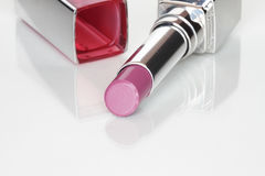 Glamor shiny lipstick Stock Images