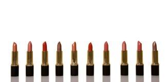 Glamor shiny lipsticks royalty free stock photo
