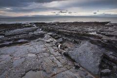 Glamorgan海岸线 库存图片