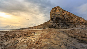 Glamorgan Heritage coast, UK stock photo