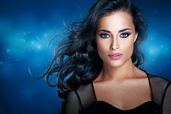 Glamorous Beauty. Portrait of a beautiful glamorous women posing Royalty Free Stock Image