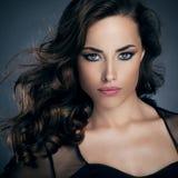 Glamorous Beauty. Portrait of a beautiful glamorous women posing Stock Photography