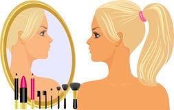 Glamorous blonde Stock Photography