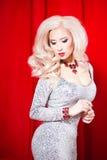 Glamorous blonde Royalty Free Stock Photography