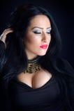 Glamorous Brunette Woman Royalty Free Stock Photo