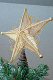 Glamorous Christmas image. A glittering Christmas image of the sign Royalty Free Stock Photo