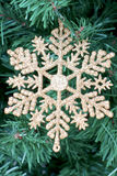 Glamorous Christmas image. A glittering Christmas image of the sign Royalty Free Stock Photos