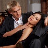 Glamorous couple Royalty Free Stock Image