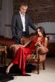 Glamorous couple Stock Image