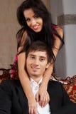 Glamorous couple Royalty Free Stock Photos