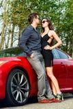 Glamorous couple Royalty Free Stock Photo