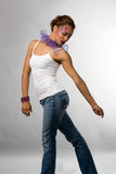 Glamorous Dancer Royalty Free Stock Images