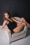 Glamorous dancer Stock Photo
