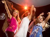 Glamorous dancers Royalty Free Stock Photo