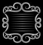Glamorous Emblem Vintage Royalty Free Stock Photography