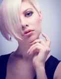Glamorous Fashion Girl Stock Photography