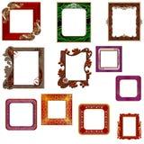 Glamorous frames Royalty Free Stock Photos