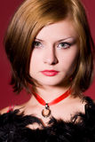 Glamorous girl Stock Images