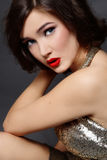 Glamorous girl Stock Image