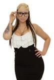 Glamorous girl Royalty Free Stock Images