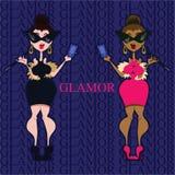 Glamorous girl Stock Photography