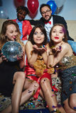 Glamorous girls Royalty Free Stock Photo