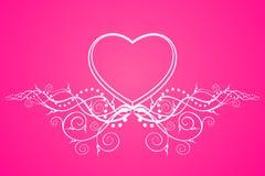 Glamorous heart Royalty Free Stock Photos