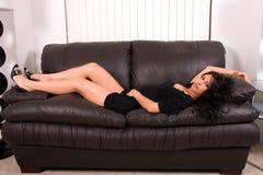 Glamorous Hispanic woman. Stock Images