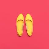 Glamorous Ladies' shoes Stock Image