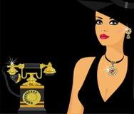 Glamorous lady Royalty Free Stock Photography