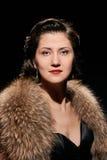 Glamorous lady portrait Royalty Free Stock Photos