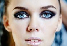 Glamorous makeup Stock Image