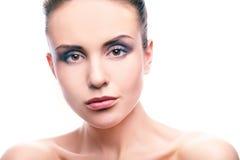 Glamorous makeup Stock Images