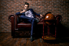 Glamorous Man Royalty Free Stock Image