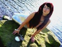 Glamorous Mermaid Stock Photography