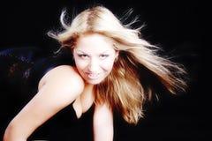 Glamorous model. Sexy glamor girl. Shot in studio Royalty Free Stock Photo