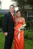Glamorous Prom Couple Stock Photography