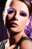 Glamorous Purple Royalty Free Stock Photo