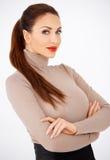 Glamorous redhead woman Royalty Free Stock Photography