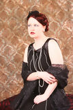 Glamorous Redhead Royalty Free Stock Image
